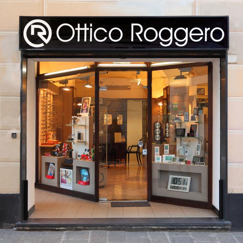 Vetrina Ottico Roggero