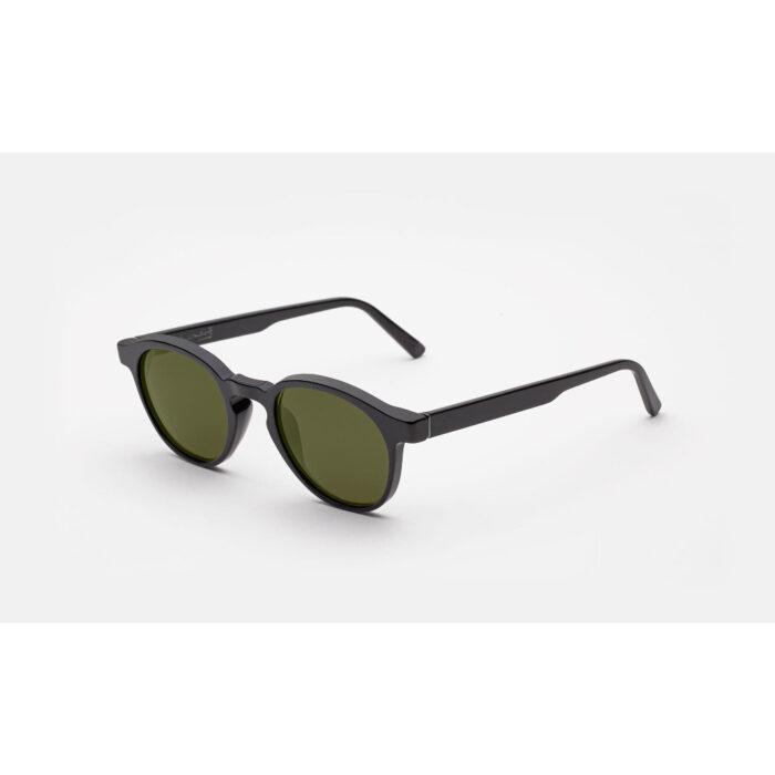 Ottico-Roggero-occhiale-sole-Andy-Warhol-the-iconic-black-matte
