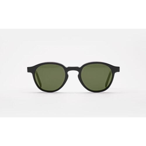 Ottico-Roggero-occhiale-sole-Super-Andy-Warhol-the-iconic-black-matte
