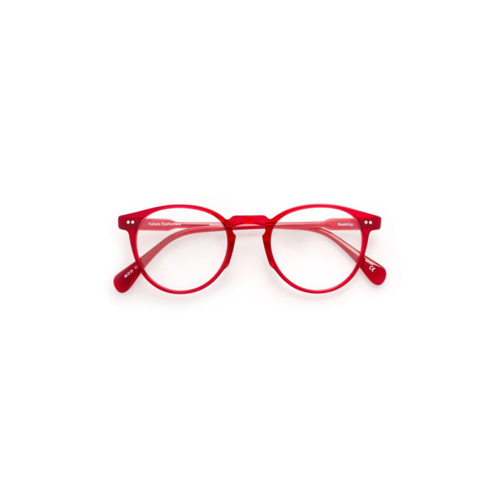 Ottico-Roggero-occhiale-vista-Kaleos-Redding-rosso