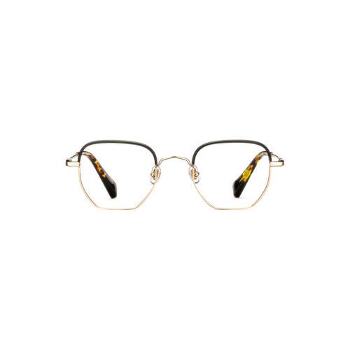 OtticoRoggero-occhiale-vista-texas-geometric-gold-by-gigi-barcelona