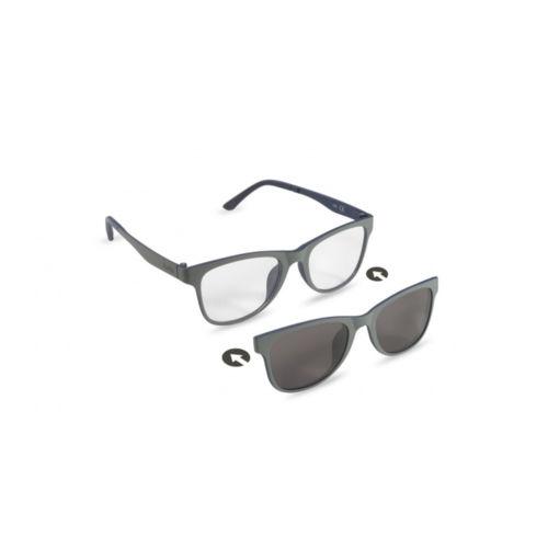 Ottico Roggero occhiale vista-sole ZIEL-Duetto-V53-Grigio-Blu