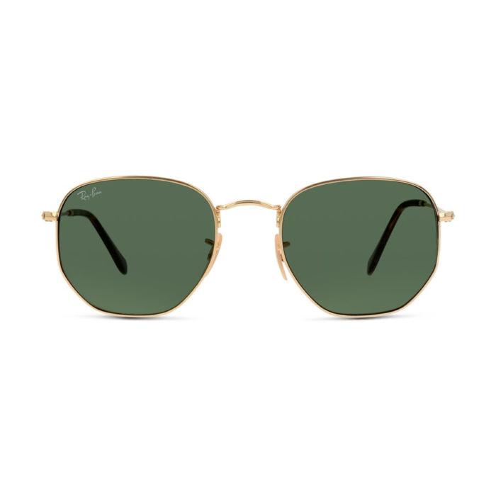Ottico-Roggero-occhiale-sole-ray-ban-RB3548-lente-oro-green