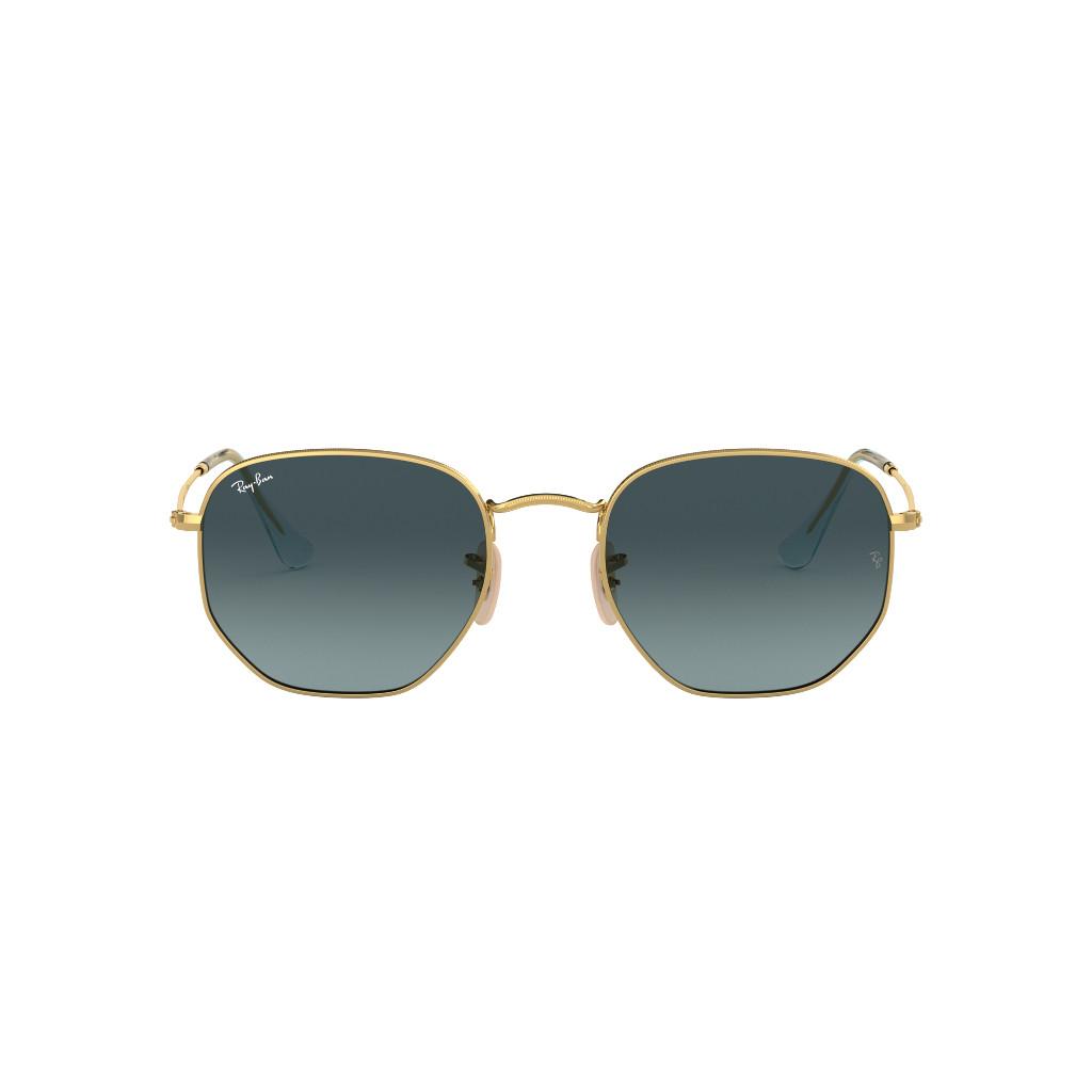 Ottico Roggero occhiale sole ray ban RB3548 lente oro lente azzurra
