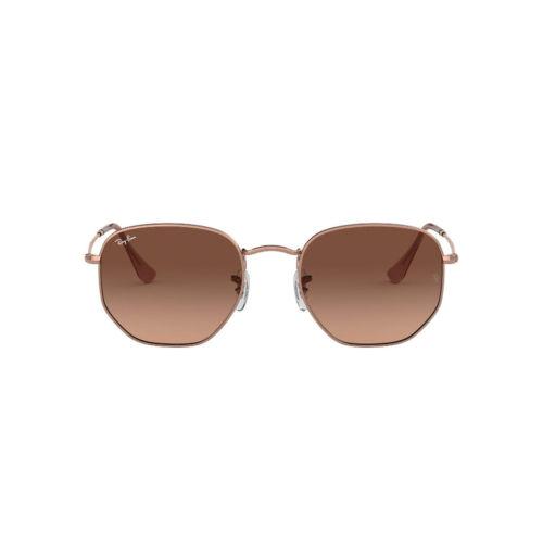 Ottico Roggero occhiale sole ray ban RB3548 lente oro rosato
