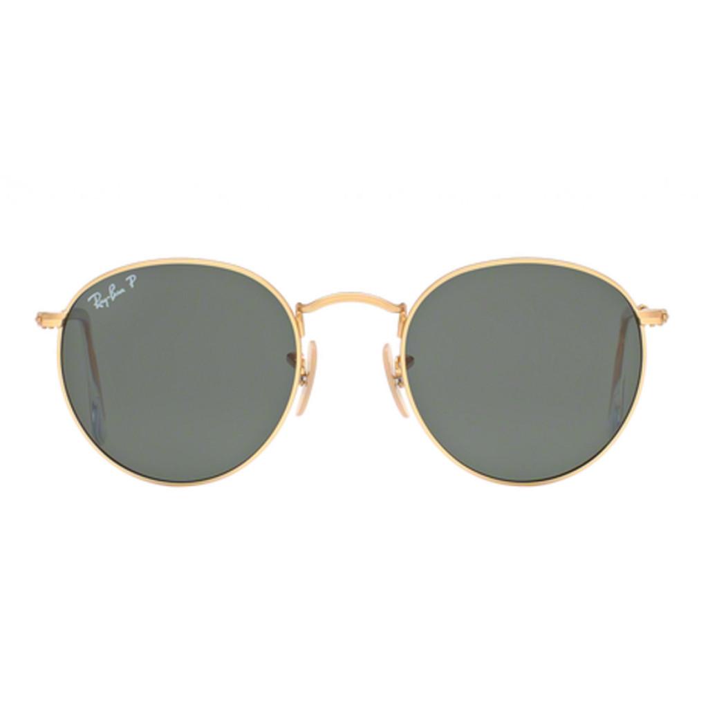 Ottico Roggero occhiale sole ray ban RB447 lente oro green polarizzante