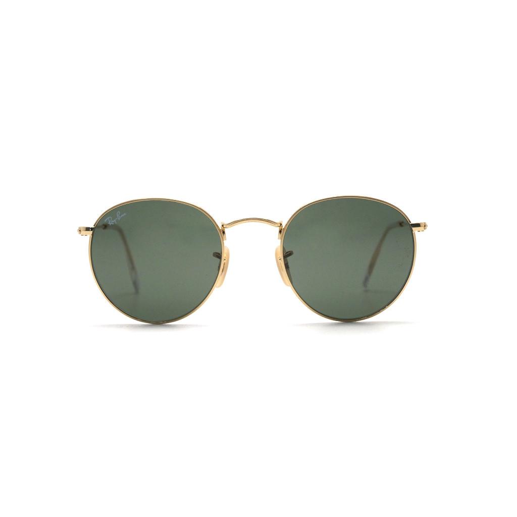 Ottico-Roggero-occhiale-sole-ray-ban-RB447-lente-oro-green