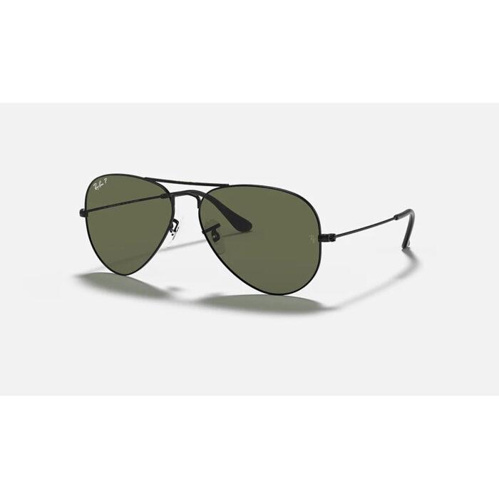 Ottico-Roggero-occhiale-sole-ray-ban-rb-3025-nero-lenti-polarizzanti-verd