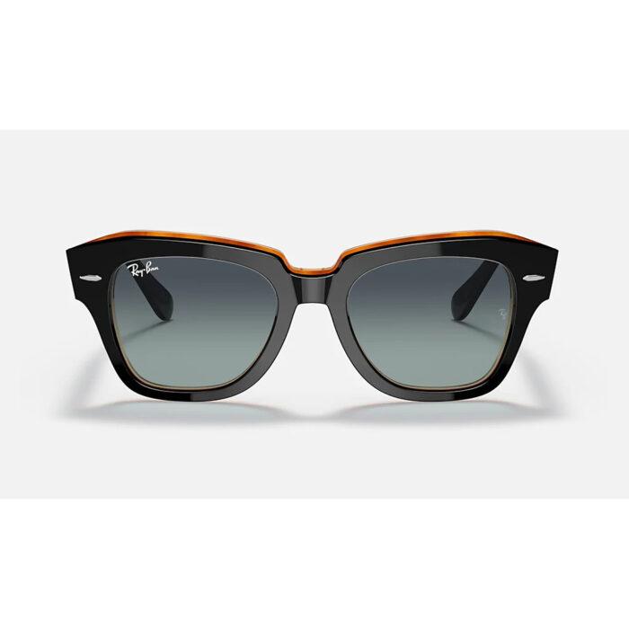 Ottico-Roggero-occhiale-sole-Ray-ban-RB2186-black-1-front.