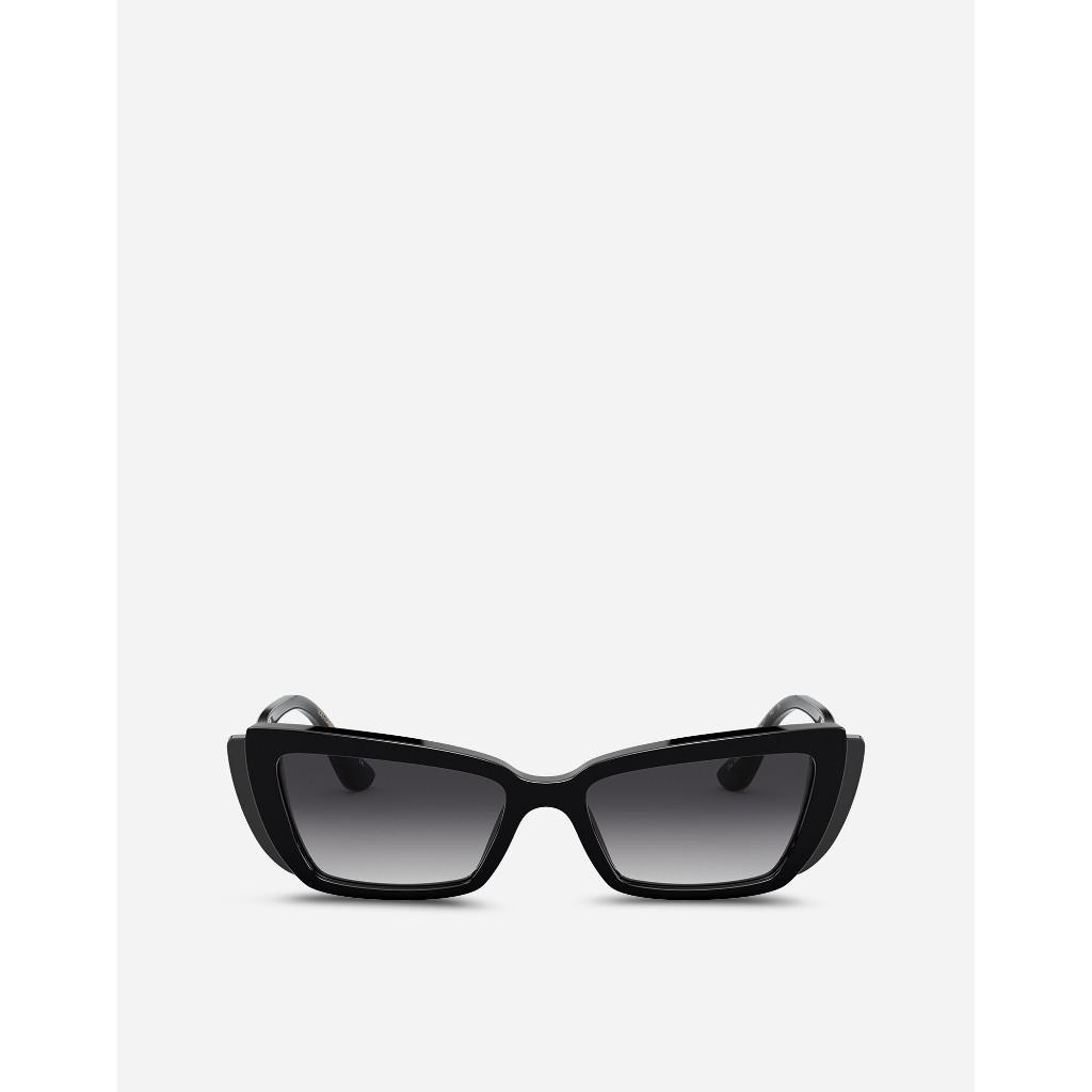 Ottico-Roggero-occhiale-sole-Dolce-and-Gabbana-DG4382-black-front