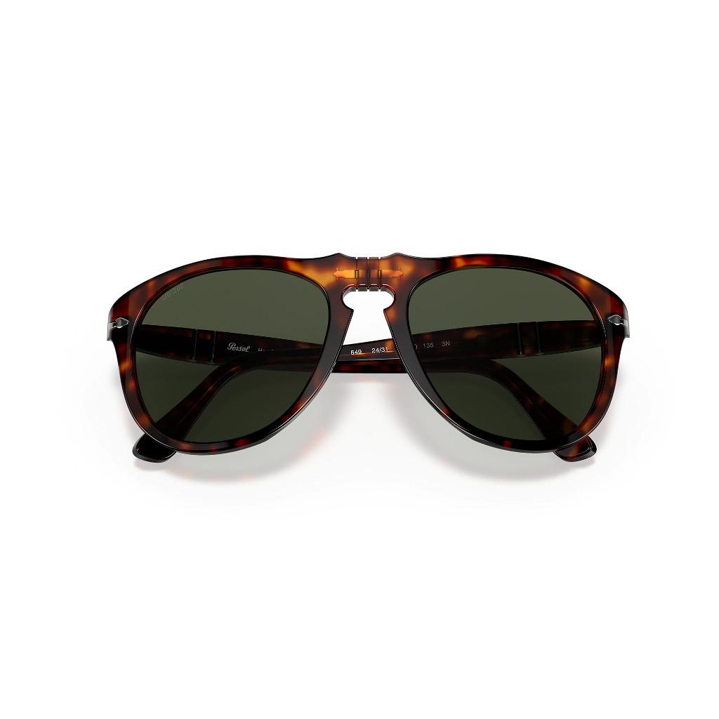 Ottico-Roggero-occhiale-sole-Persol-PO649S-tarta-green