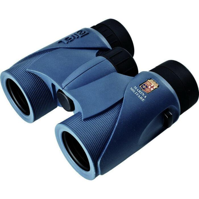 Ottico-Roggero-binocolo-Ziel-marina-militare-blu.