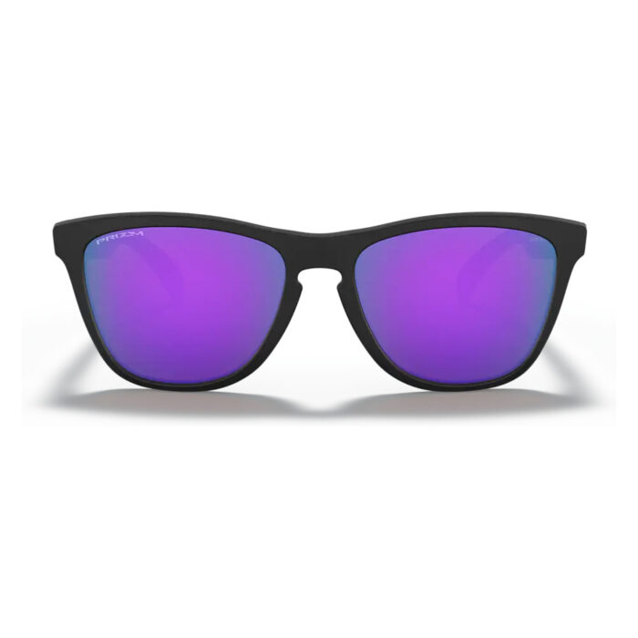 Ottico-Roggero-occhiale-da-sole-Oakley-OO9013-Frog-Skin-black-lente-violet