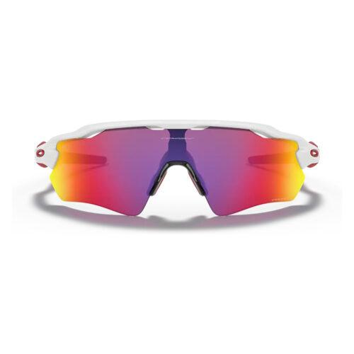 Ottico-Roggero-occhiale-da-sole-Oakley-OO9208-Radar-Ev-Path-road-red-front