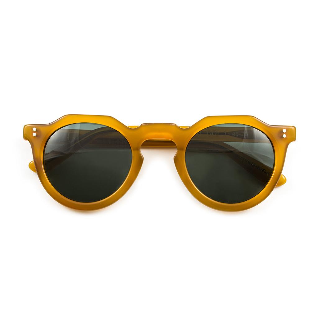 Ottico-Roggero-occhiale-sole-Lesca-Picas-miele