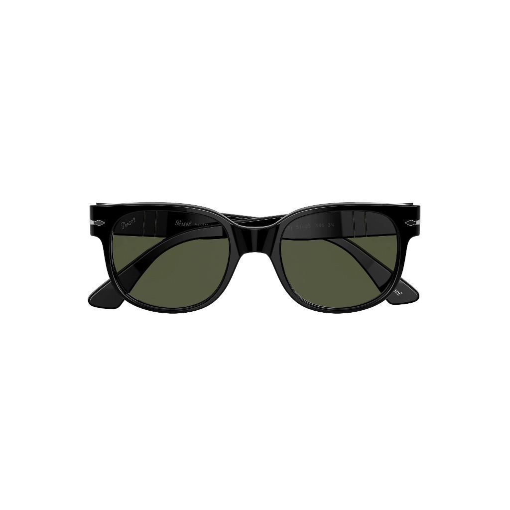 Ottico-Roggero-occhiale-sole-Persol-PO3257-black-front