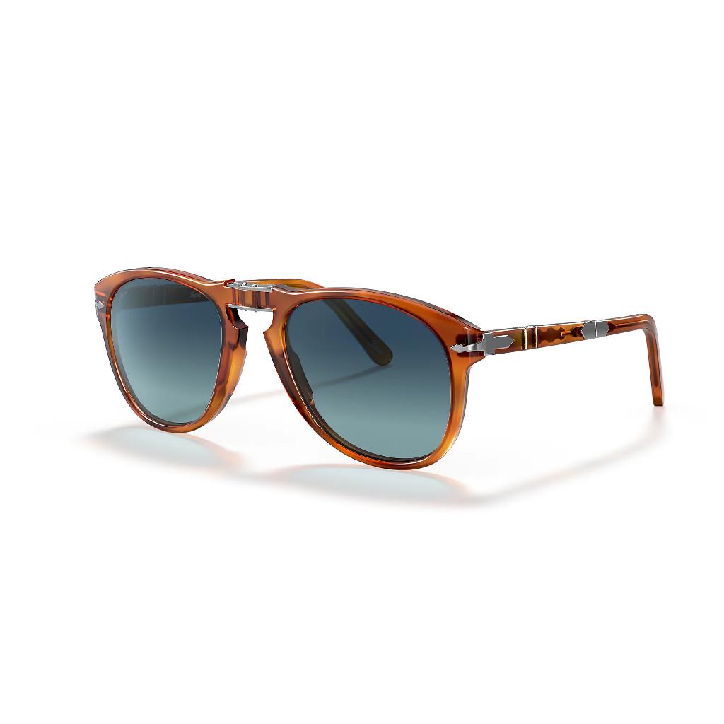Ottico-Roggero-occhiale-sole-persol-Steve-McQueen-Po714-light-turtle