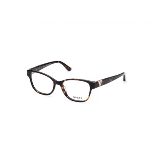 Ottico-Roggero-occhiale-vista-Guess-gu-2854-s-052-dark-havana