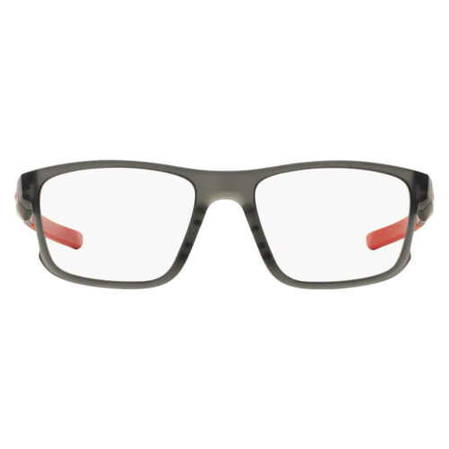 Ottico-Roggero-occhiale-vista-Oakley-hyperlink_satin-grey-smoke-front