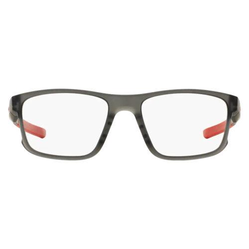 Ottico-Roggero-occhiale-vista-Oakley-hyperlink_satin-grey-smoke-front