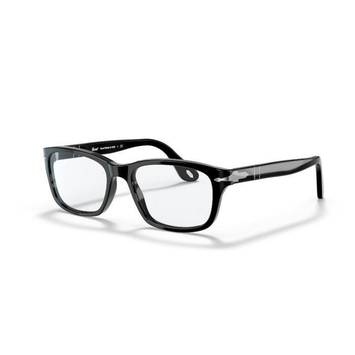 Ottico-Roggero-occhiale-vista-Persol-PO3012-black-fron
