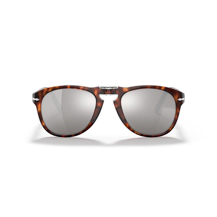 Ottico-Roggero-occhiale-sole-Persol-Po0714-Steve-McQueen-platinum-grey-front