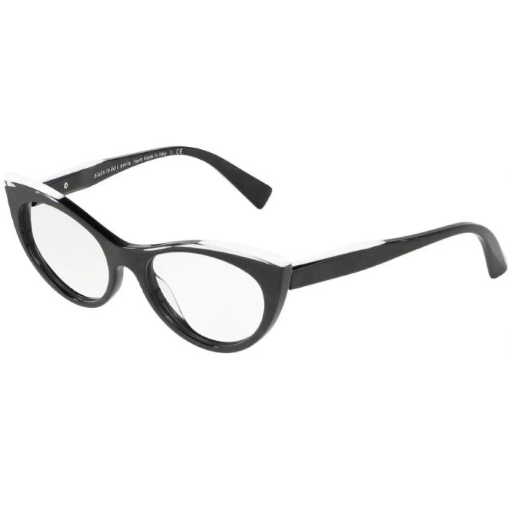 Ottico-Roggero-occhiale-vista-alain-mikli-a0-3087-004-white-crystal-black