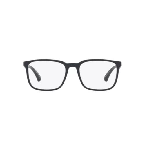 Ottico-Roggero-occhiale-vista-emporio-armani-ea-3178-5871-matte-blue-front