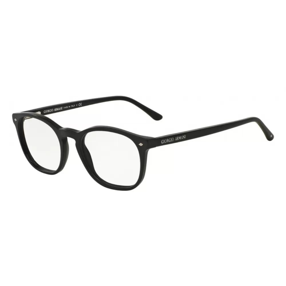 Ottico-Roggero-occhiale-vista-giorgio-armani-7074-5042-nero-opaco