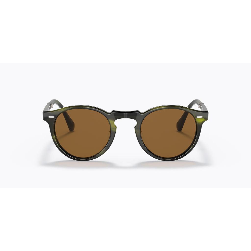 Ottico-Roggero-occhiale-da-sole-oliver-people-gregory-Peck-1962-emerald-bark