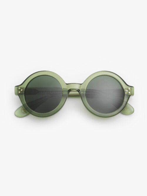 Ottico-Roggero-occhiale-sole-Lesca-lunetier-Phil-verde-front