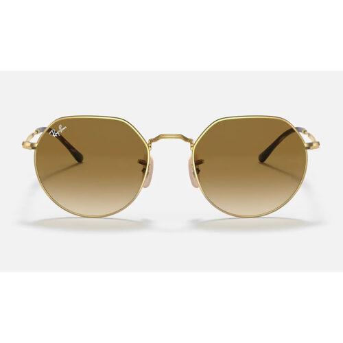 Ottico-Roggero-occhiale-sole-Ray-Ban-RB3565-Jack-gold-lente-brown-front
