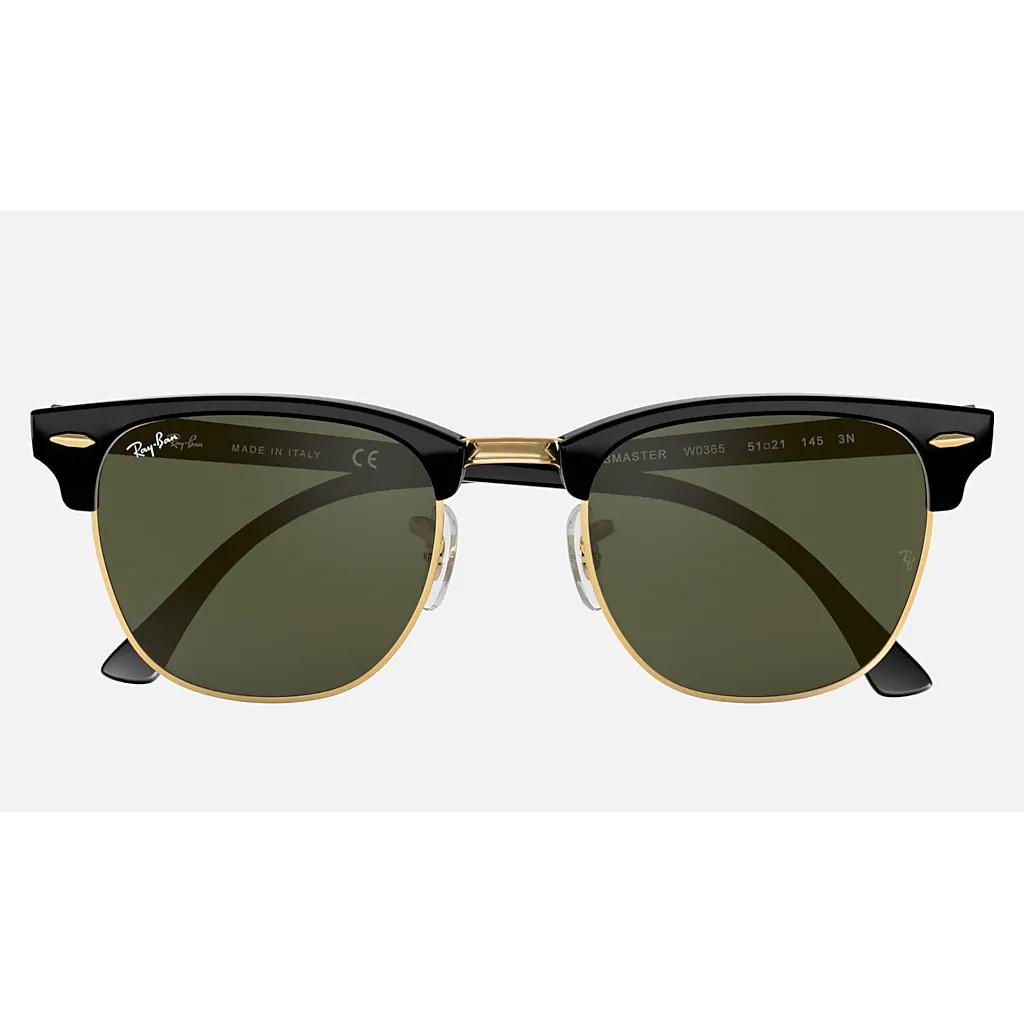 Ottico-Roggero-occhiale-sole-ray-ban-RB3016-Clubmaster-black-front