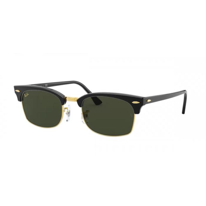 Ottico-Roggero-occhiale-sole-ray-ban-rb-3916-clubmaster-square-130331-black