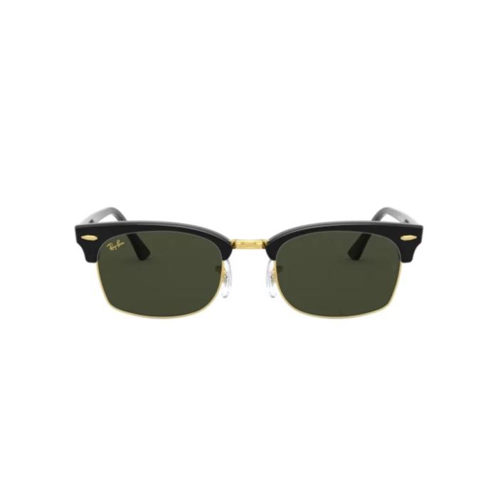 Ottico-Roggero-occhiale-sole-ray-ban-rb-3916-clubmaster-square-130331-black-front
