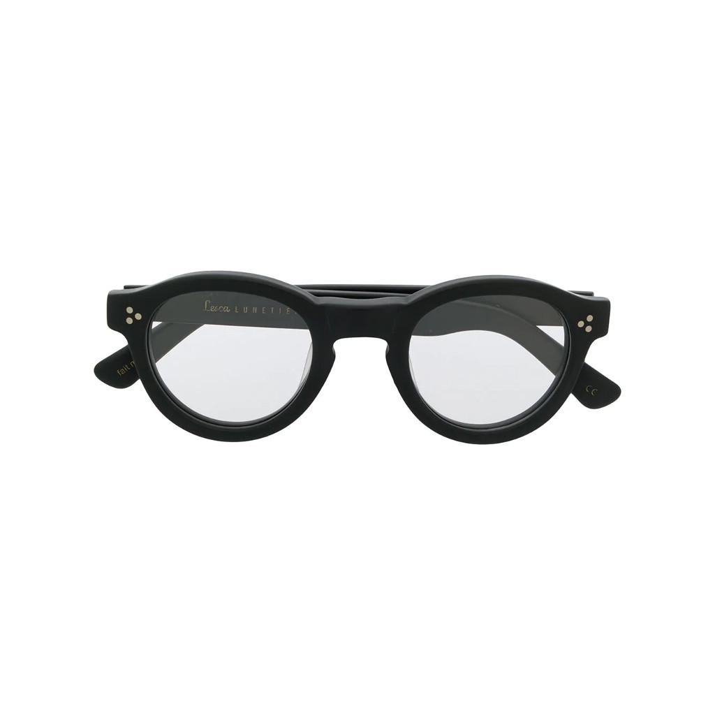 Ottico-Roggero-occhiale-vista-lesca-Gaston-satin-black
