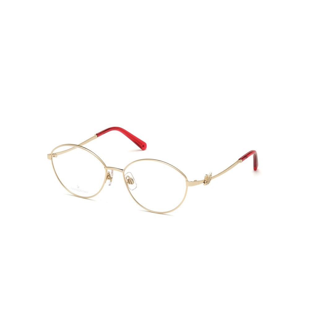 Ottico-Roggero-occhiale-vista-swarovski-sk5347-032-pale-gold