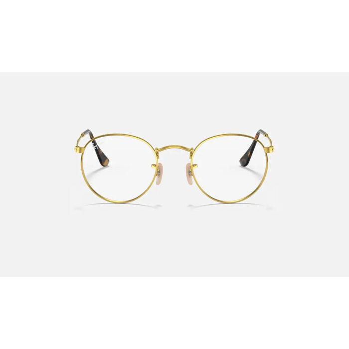 Ottico-Roggero-occhiale-VISTA-rayban-RX3447-gold-front.