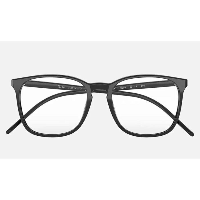 Ottico-Roggero-occhiale-VISTA-rayban-RX5387-black-front