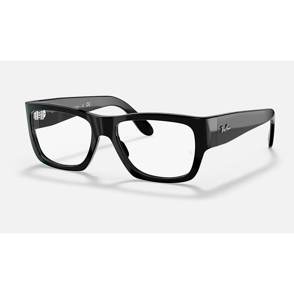 Ottico-Roggero-occhiale-VISTA-rayban-RX5487-Nomad-black-f