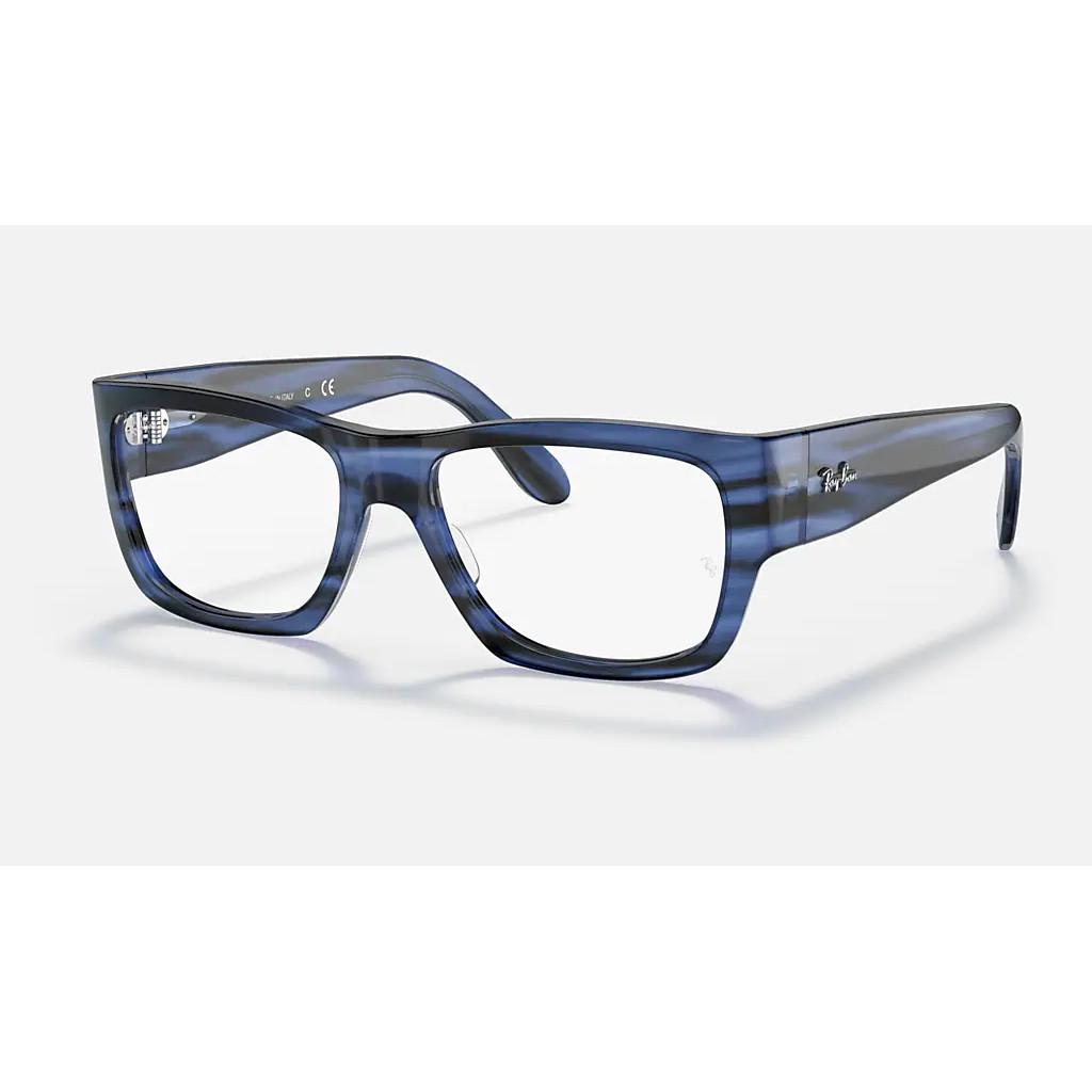 Ottico-Roggero-occhiale-VISTA-rayban-RX5487-Nomad-blu