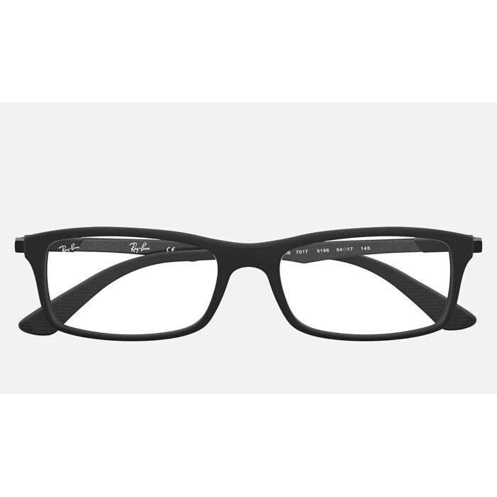 Ottico-Roggero-occhiale-VISTA-rayban-RX7017-black-fron