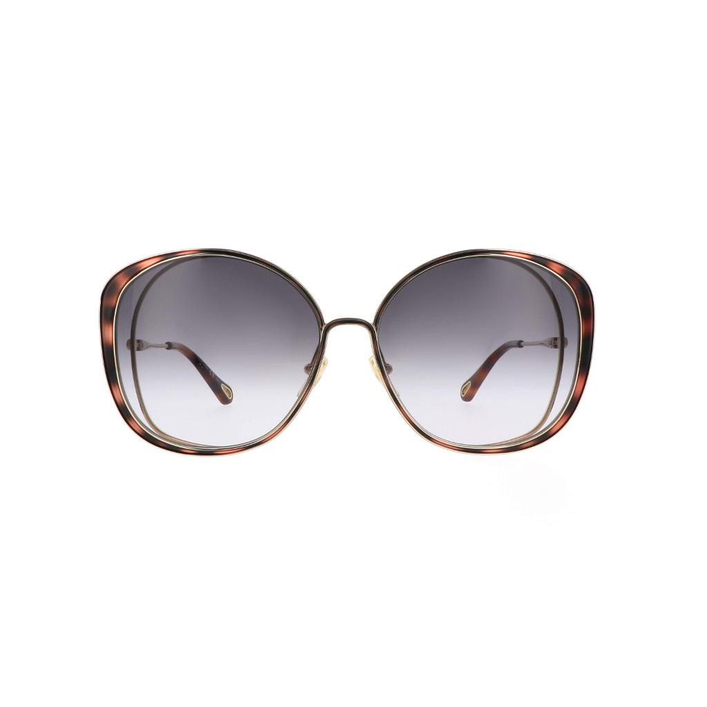 Ottico-Roggero-occhiale-sole-chloe-ch0036s-001-gold-front