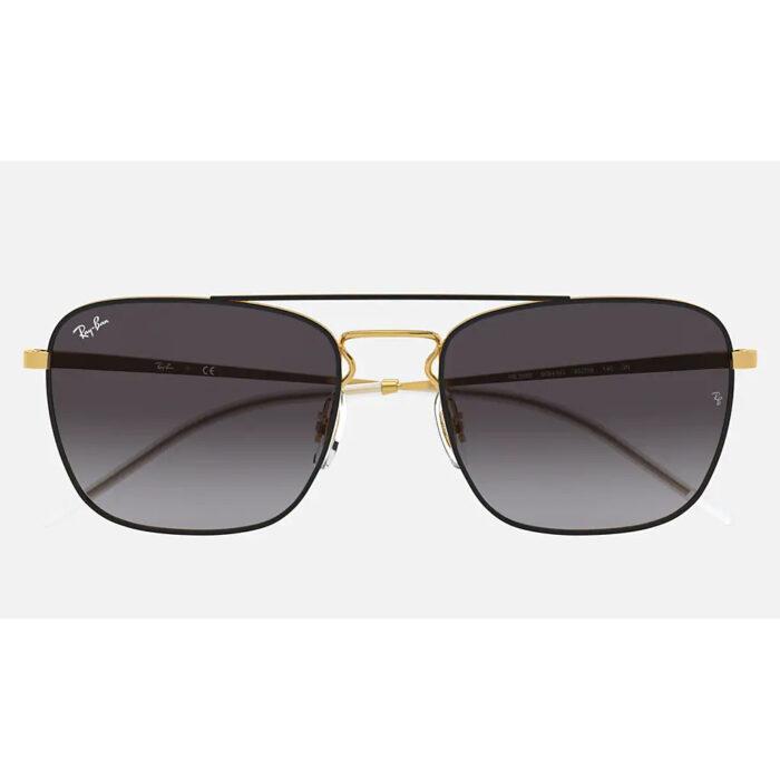 Ottico-Roggero-occhiale-sole-ray-ban-RB3588-sfumato-nero-front