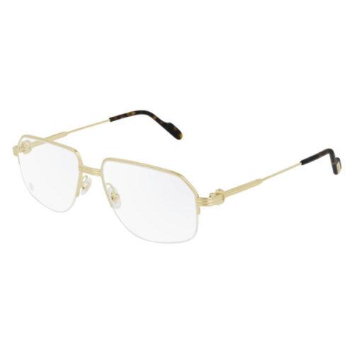 Ottico-Roggero-occhiale-vista-Cartier-CT-00285O-oro