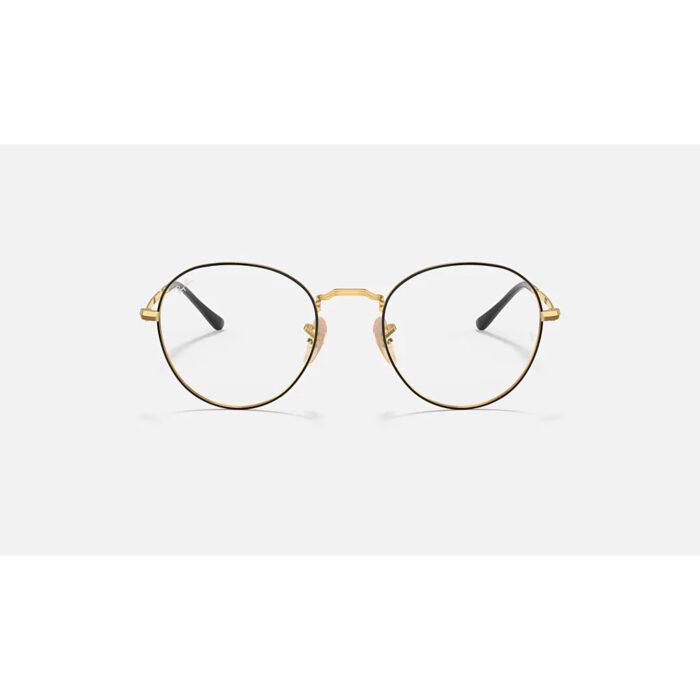 Ottico-Roggero-occhiale-VISTA-rayban-RX3582-nero-e-oro