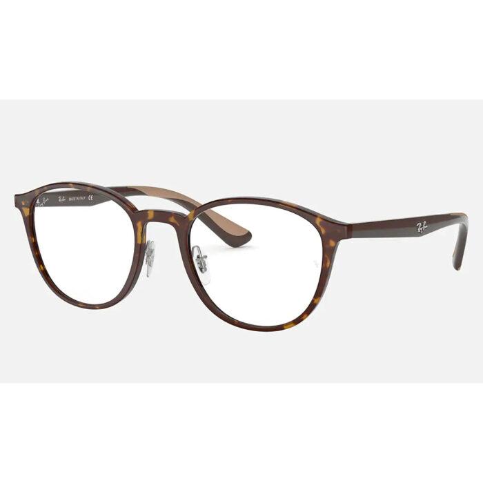 Ottico-Roggero-occhiale-sole-Ray-ban-Rx7156-brown