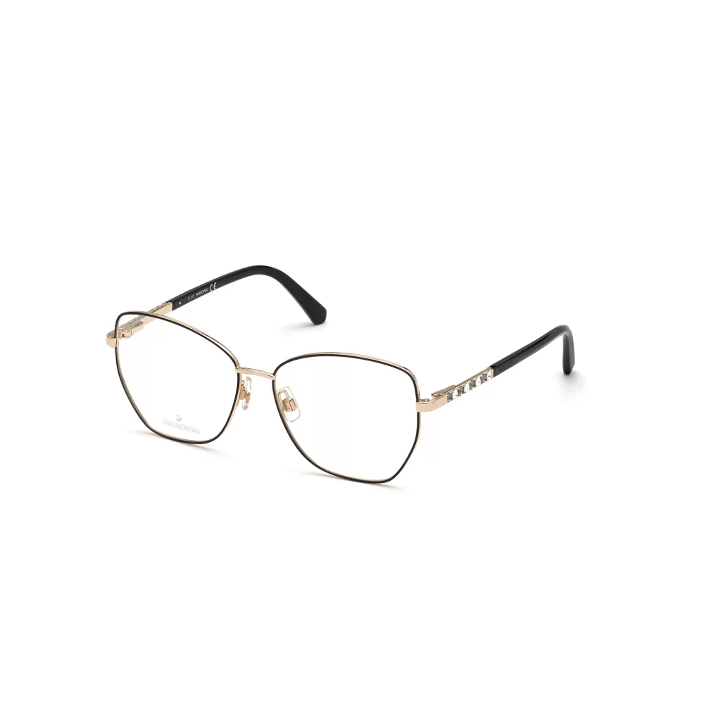 Ottico-Roggero-occhiale-vista-swarovski-sk-5393-32a-pale-gold