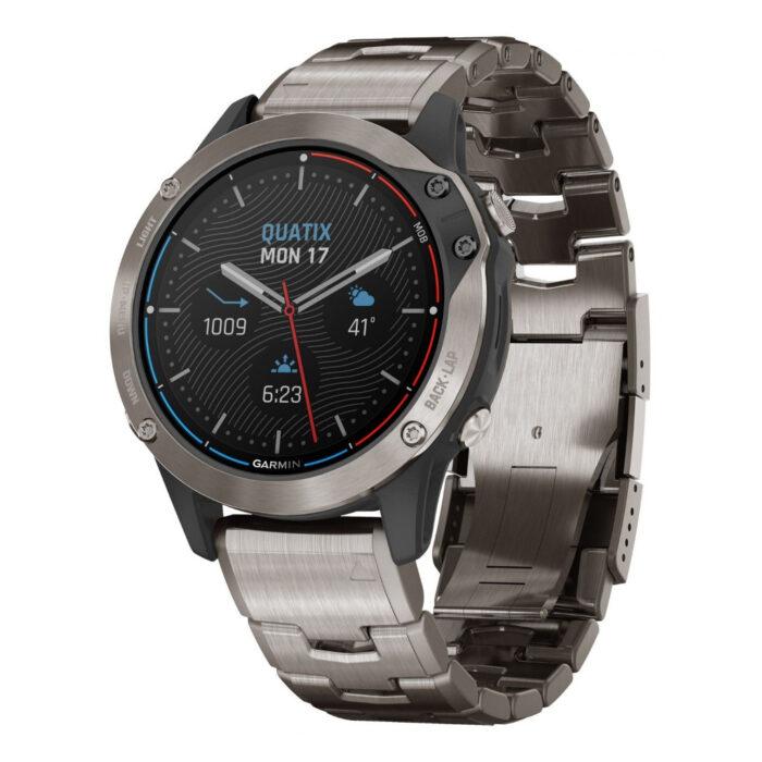 Ottico-Roggero-orologio-garmin-Quatix-6-Titanium