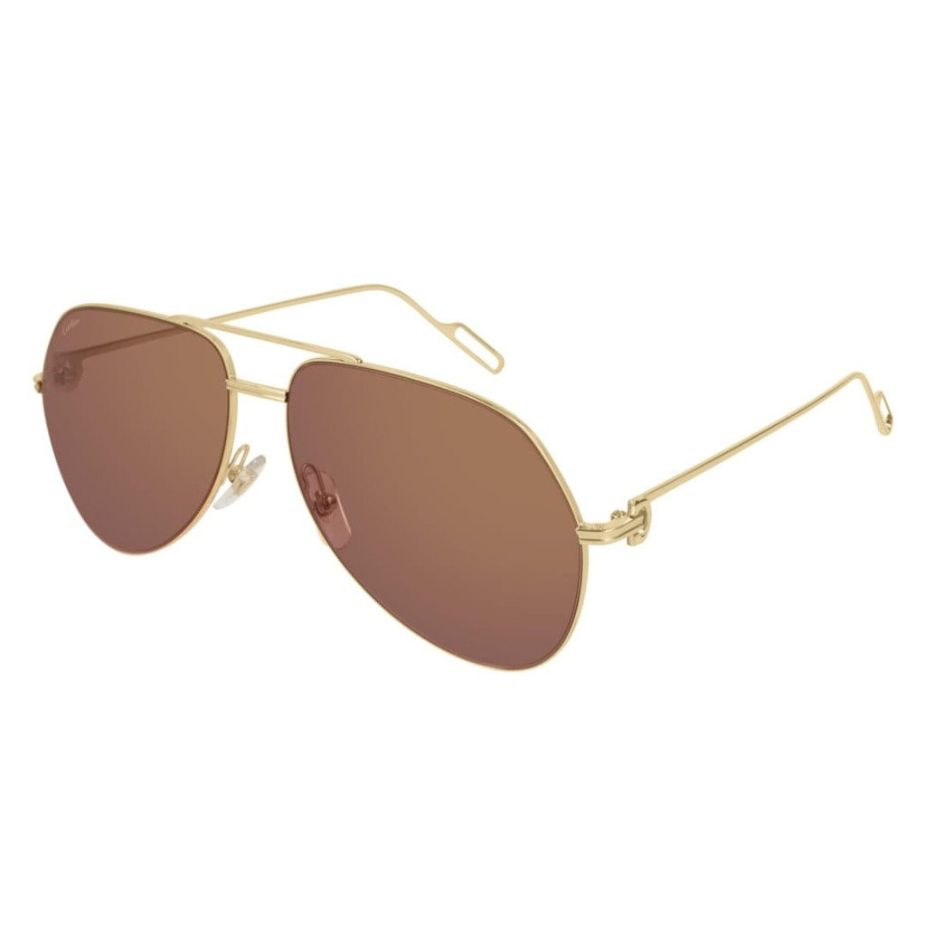 Ottico-Roggero-occhiale-sole-Cartier-CT-0110s-gold.